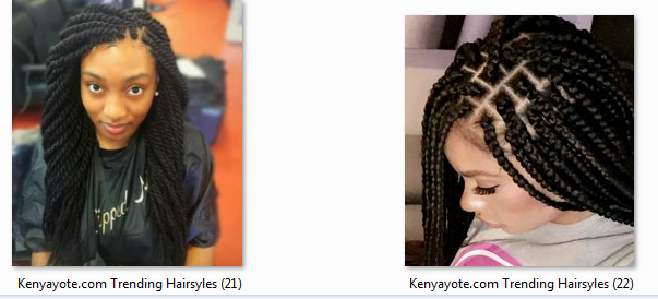 Photos of Best and trending hairstyles in Kenya, 2017