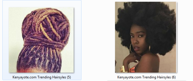 natural hairstyles in kenya