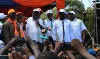 Kenya, Nasa alliance flag bearers raila and musalia