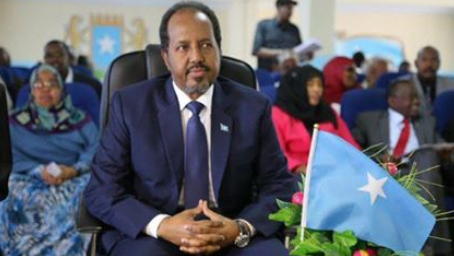 Somalia President Hassan Sheikh Mohamud 2017