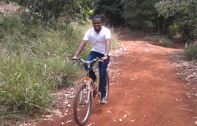 Taking a Ride at Karura forest