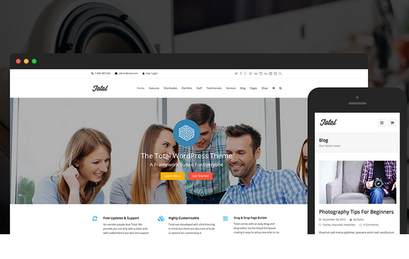 charachteristics of a good wordpress theme features