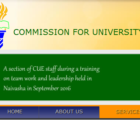 commission for university education cue degree
