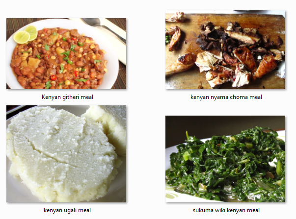 typical kenyan meals food menu plan