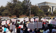 uber drivers in kenya strike protest