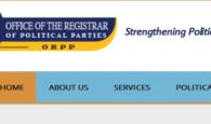 Kenya political party membership confirmation verification websites