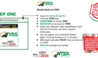 NTSA Kenya tims registration procedure