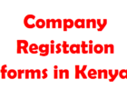 company registration forms in kenya online download