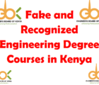 fake and recognized engineering courses in kenya by ebk