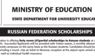 russian scholarships to kenyan students undergraduate