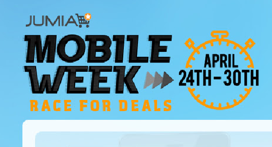 Jumia Kenya mobile week April 2017 and offers, promotions