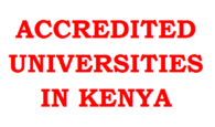 accredited universities in kenya by CUE, ofering geuine, approved and recogized degree courses in campus