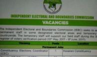 iebc 2017 april jobs for august elections