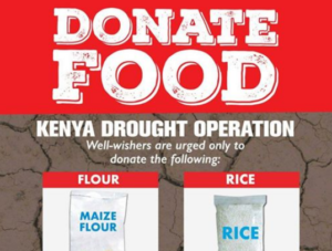 kenya red cross food donation and mpesa paybill donations
