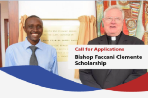 Bishop Faccani Clemente Scholarship application process, Strathmore University