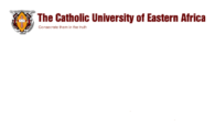 Catholic University of Eastern Africa (CUE) admission of government sponsored students, 2017