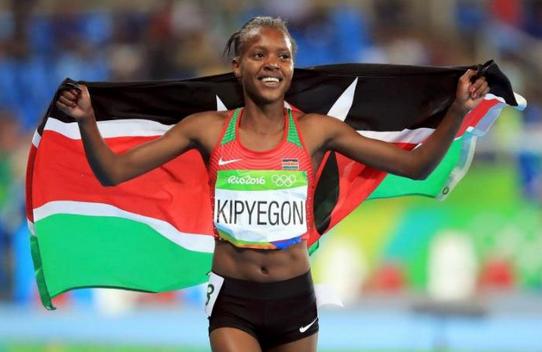 Faith Kipyegon wins Women's 1500m in 2017 Shanghai Diamond League
