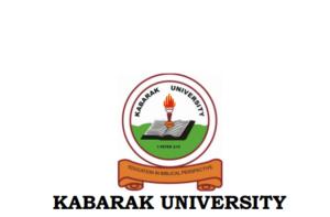 Kabarak University admission letters for government sponsored students, 2017
