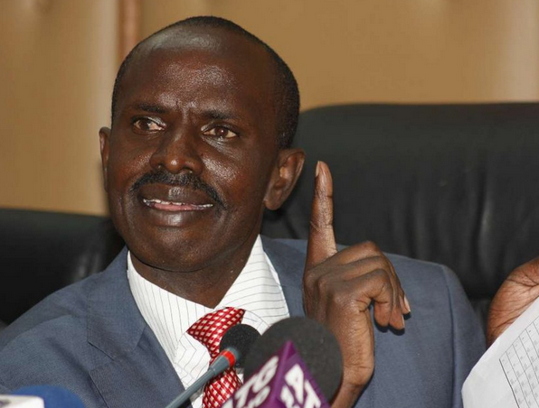 Kenya National Union of Teachers (KNUT) Secretary General Wilson Sossion