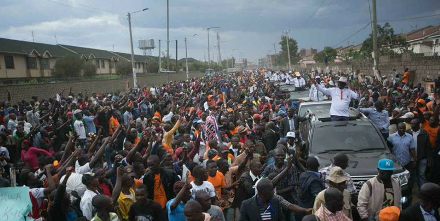 NASA arriving in Jacaranda grounds for rally