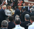 Photo President Uhuru Kenyatta meets Donald Trump at G7 summit, Italy