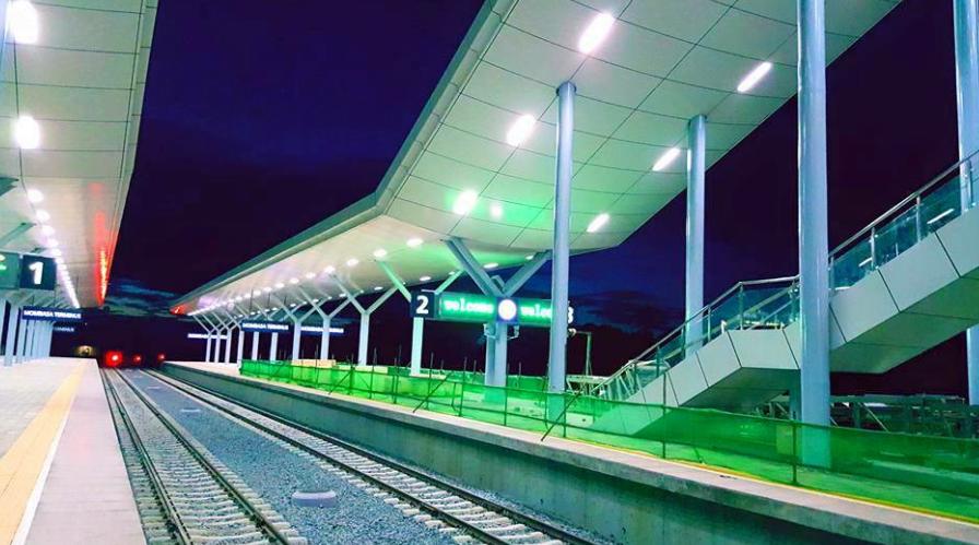 Standard Gauge Rail way exclusive Image