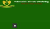 dedan kimathi university admission letters, dates and opening dates