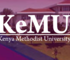 kenya methodist university, KEMU intakes and admission