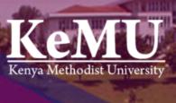 kenya methodist university, KEMU intakes and admission