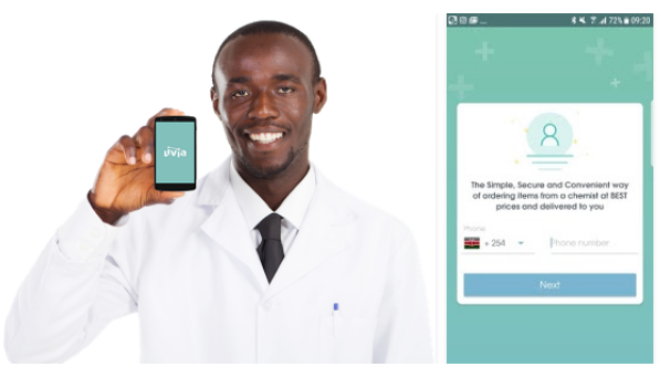 Livia app Kenya Procedure on How to Order Medicine, Drugs online from trusted chemists, Pharmacy near you and get them delivered to your room