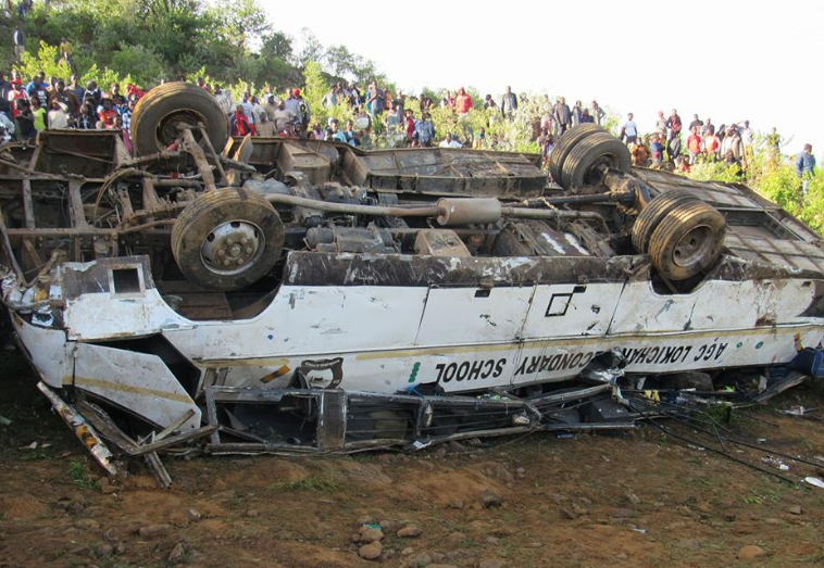 Lokichar secondary school bus accident claims lives in SS corner, Kabarnet, Iten road