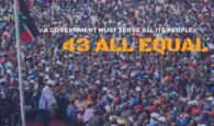 Photos Raila Odinga, NASA in Bukhungu Stadium, Kakamega presidential launch campaign rally