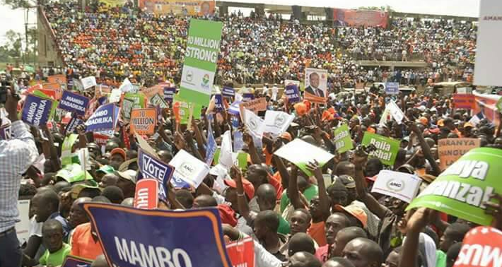 Raila in Kakamega, NASA in Kakamega,  Bukhungu Stadium