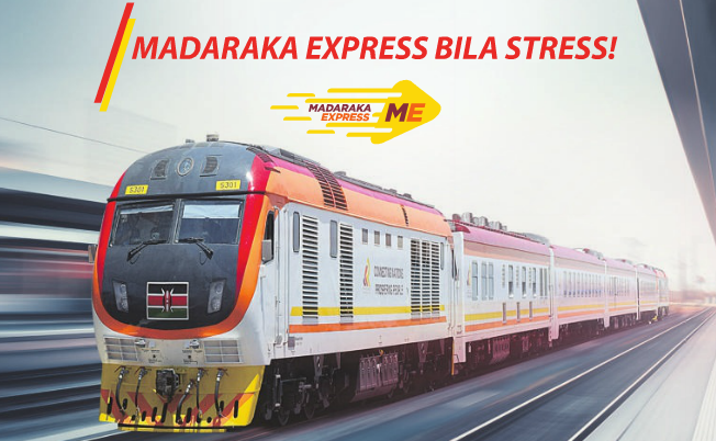 SGR Madaraka Express Train Booking Schedules and Fare charges