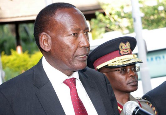 Cause of CS Joseph Kasaine Ole Nkaissery death, what killed him