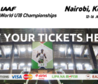 How to Buy Tickets for the IAAF World U18 Championships 2017, Nairobi, Kenya