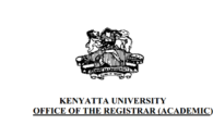 List of Kenyatta University first years missing admission letters, KUCCPS 2017