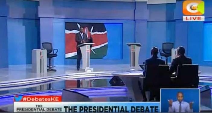 Presidential Debate in Kenya (Full Video) ,Raila Odinga, Monday 24th July 2017 uhuru kenyatta