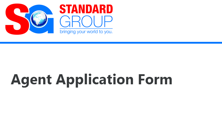 Standard Media Agent Job Application Form How To Apply For Election