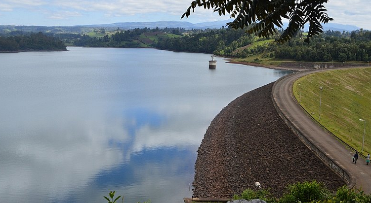 nairobi city water storage dam