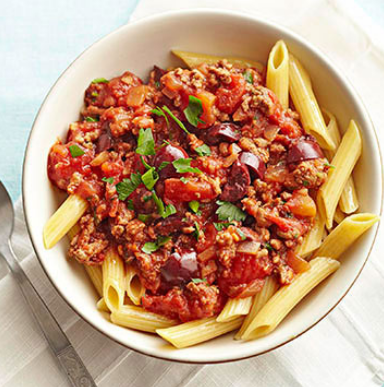 How to cook pasta with wet fry beef