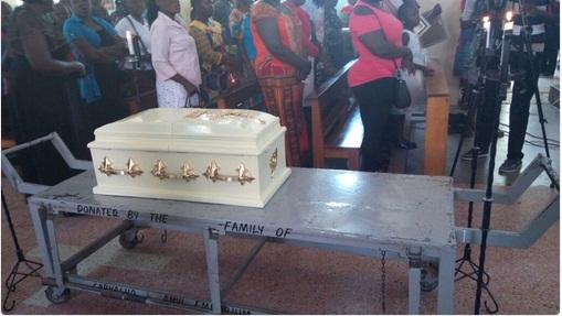 Baby Pendo Requiem Mass Held