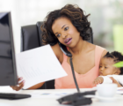 How to work from home with a toddler around, mothers making money online in kenya