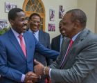 Peter Munya leaves NASA