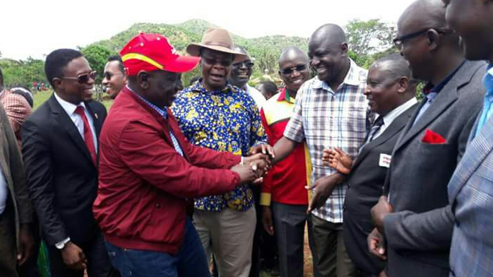 Paul Otuoma decamps from NASA to Jubilee party