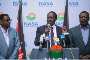 NASA List of Irreducible Minimums for Fresh Elections