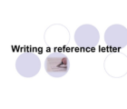 how to write a reference letter, sample and getting from professor, lecturer