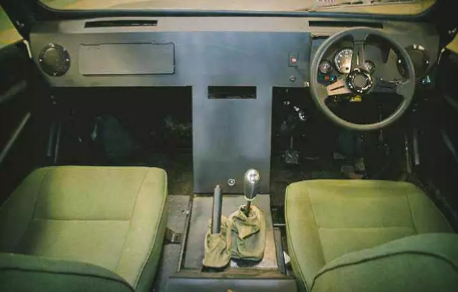 First-generation Mobius interior
