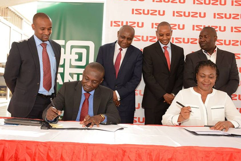 Co-operative Bank of Kenya Management and partners