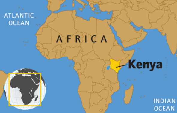 25 Facts about Kenya: General information about the country ... on map of sierra leone on africa, map of senegal on africa, map of haiti on africa, map of egypt on africa, map of nigeria on africa, map of reunion on africa,